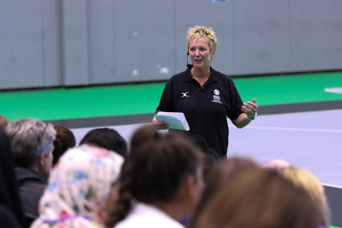 Coaching session at Make The Game LIVErpool