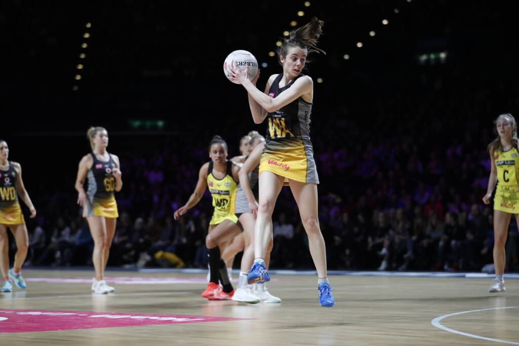 Iona Christian of Wasps Netball.