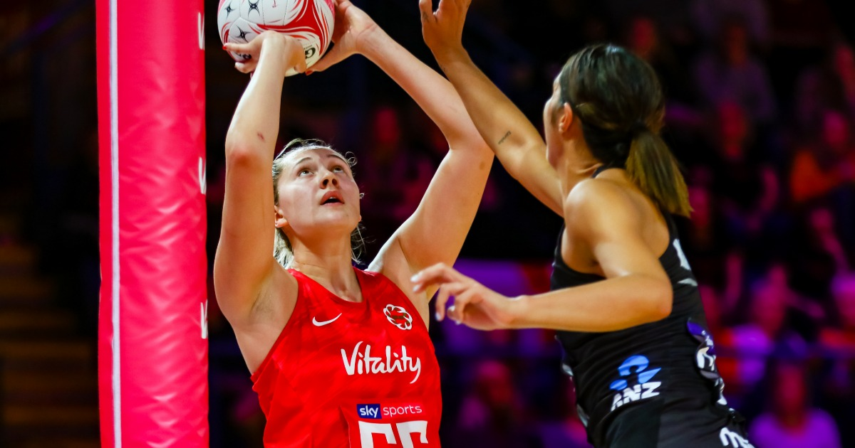 Vitality Rose George Fisher signs for Southern Steel in ANZ Premiership