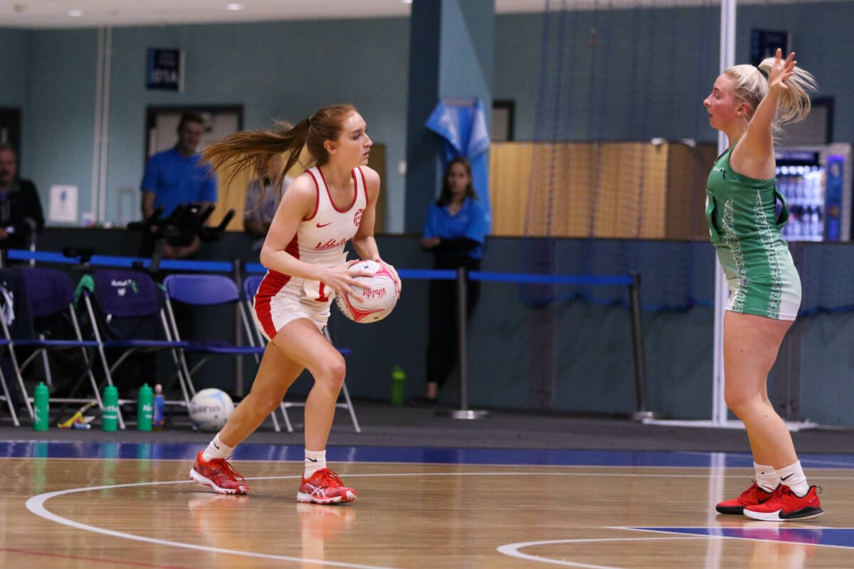 Alicia Scholes of Manchester Thunder and England.