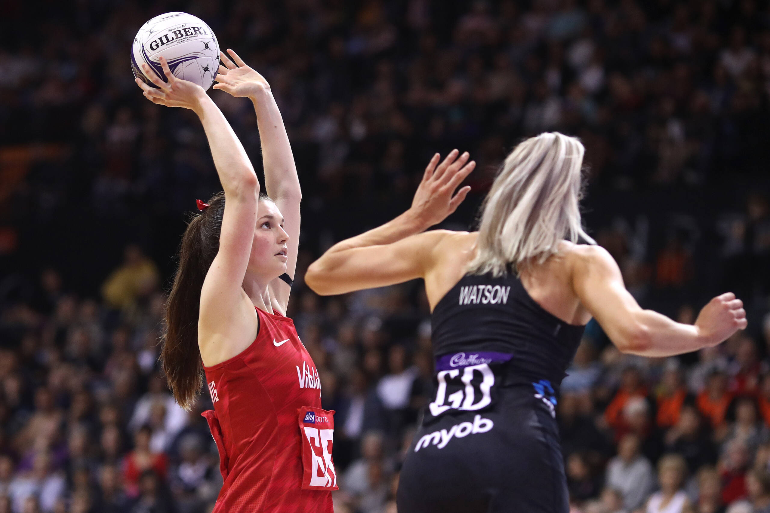 Sophie Drakeford-Lewis of the Vitality Roses and Team Bath Netball.