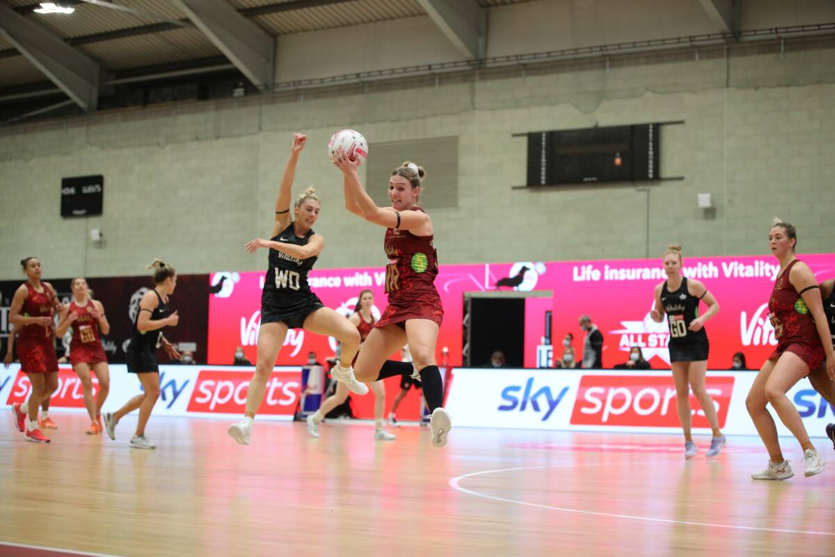 Vitality Roses prepare for second test with the international VNSL All Stars