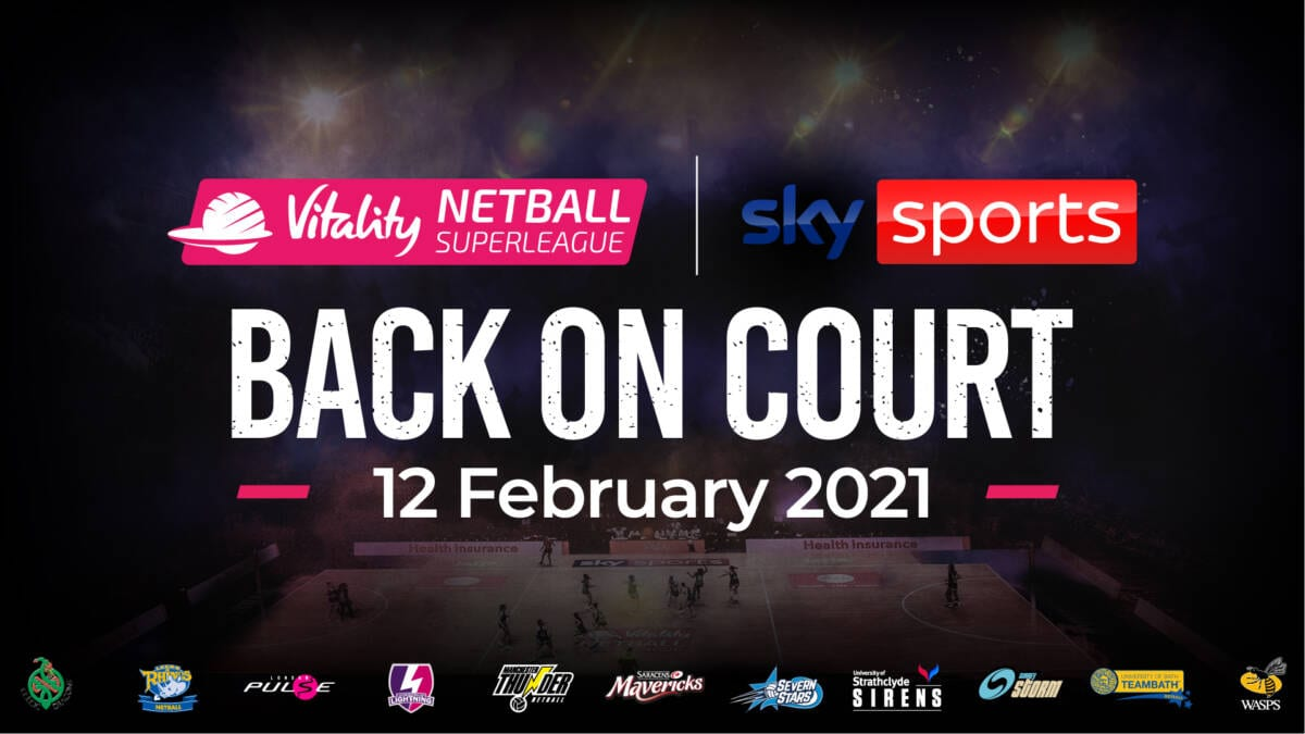 England Netball signs multi-year broadcast partnership with Sky Sports