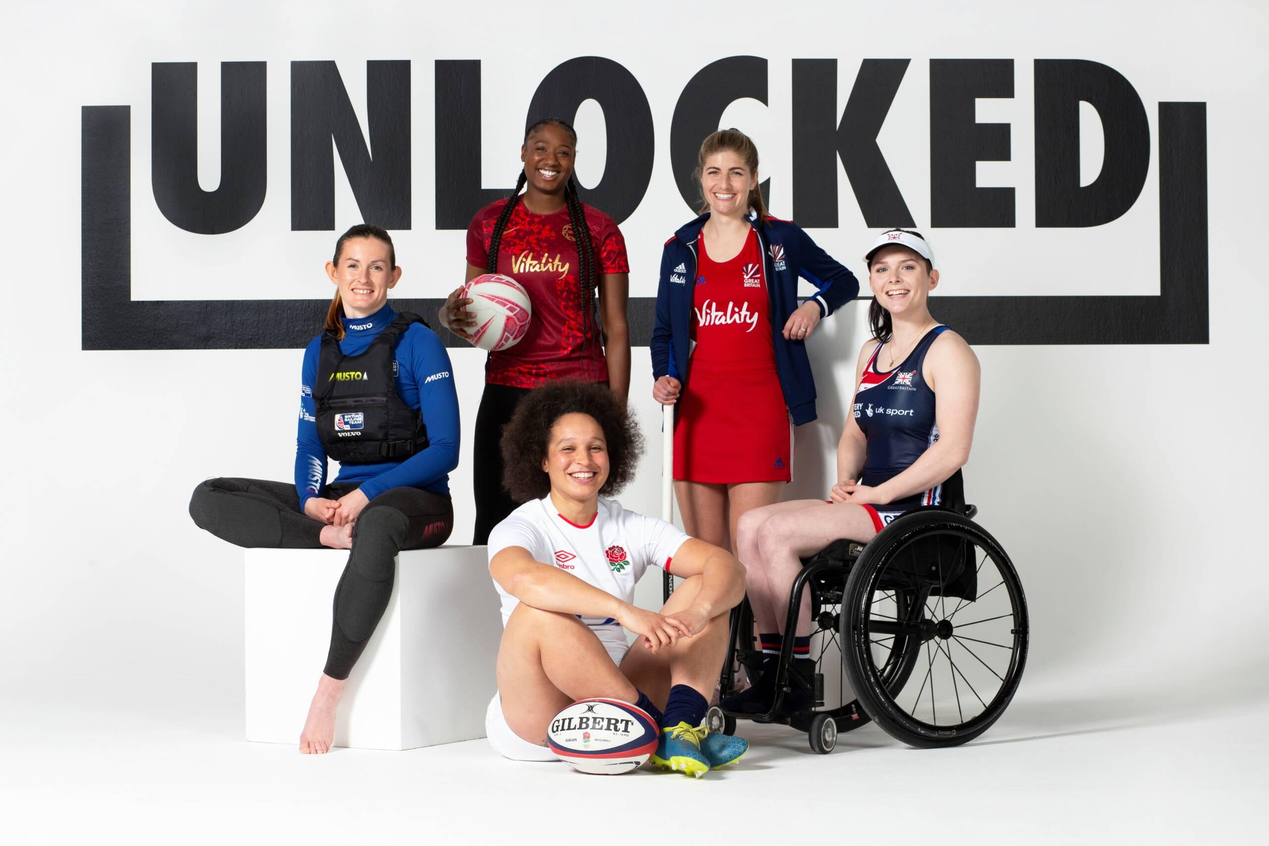 Kadeen Corbin and Stacey Francis Selected For Women's Sport Trust #Unlocked Programme