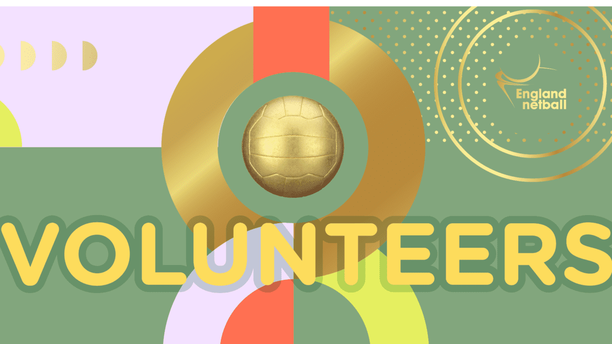 England Netball celebrates Volunteers' Week