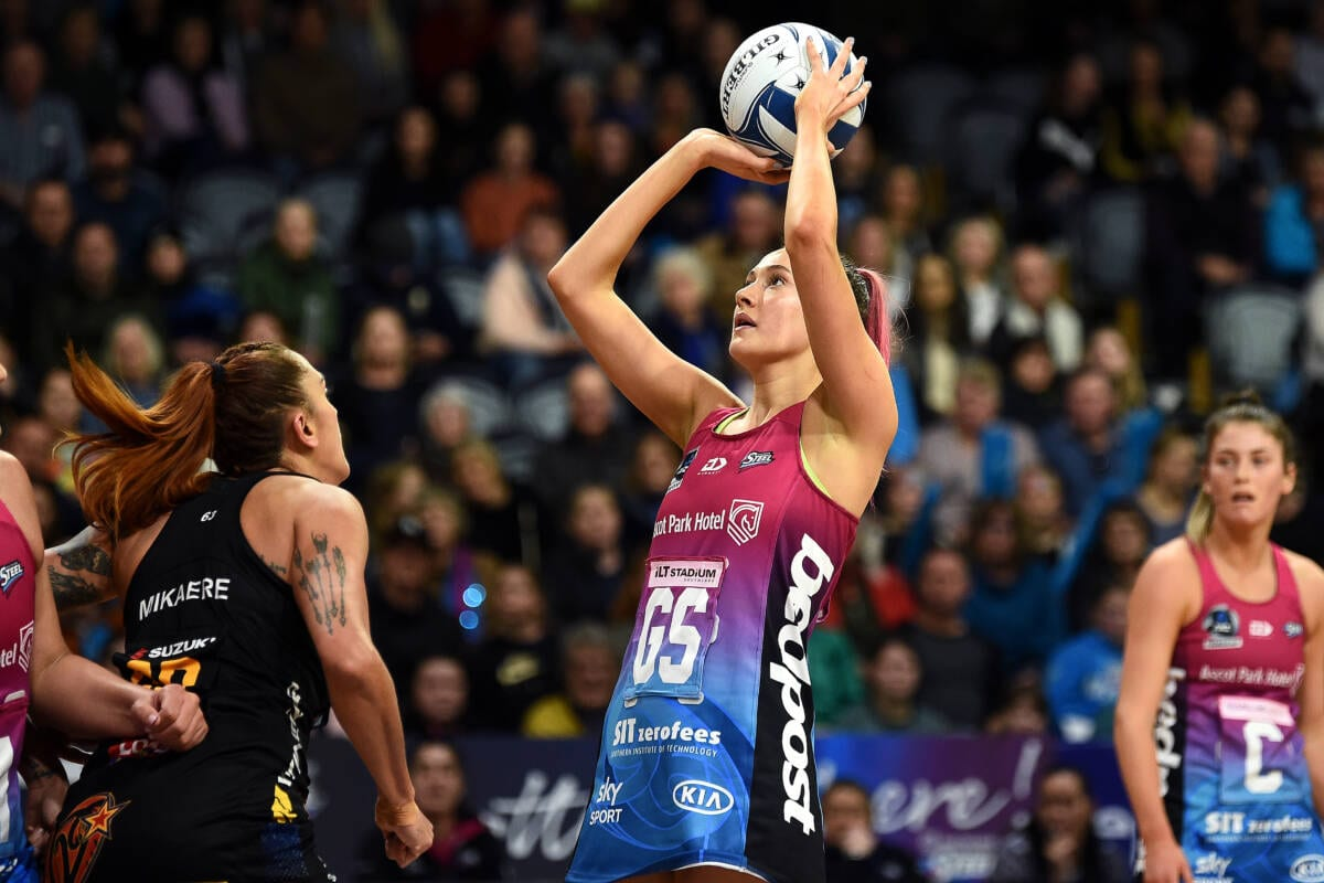 George Fisher commits to Southern Steel for 2022 ANZ Premiership