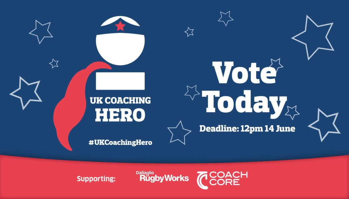 Coaching heroes come in all shapes and sizes – vote for your favourite lockdown coach
