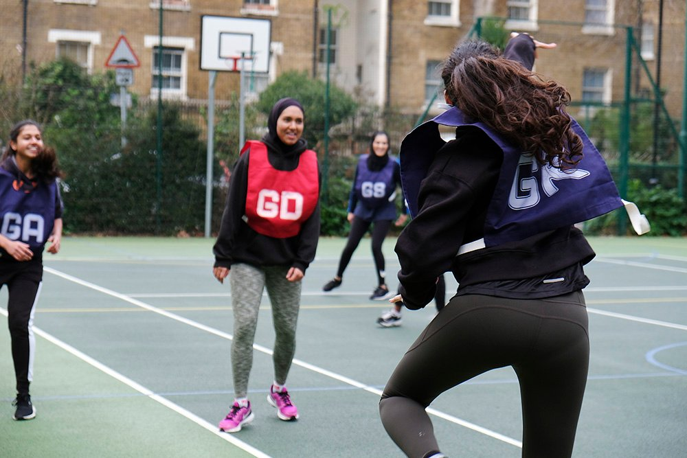 Revolution Netball prides itself on inclusivity and ability to get Muslim women active.