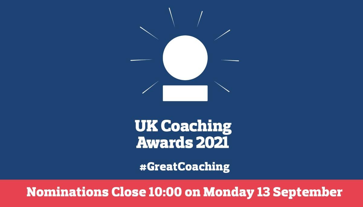Nominations for UK Coaching Awards open