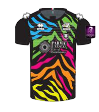 Zebre Rugby Away Kit