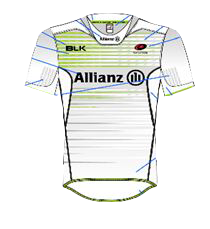 Saracens Away Kit