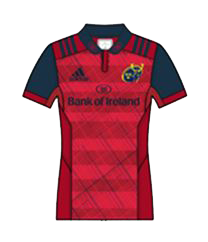 Munster Rugby Home Kit