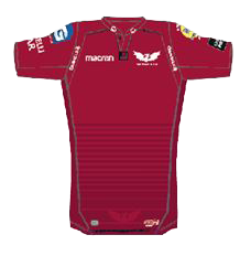 Scarlets Home Kit