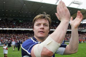 Leinster fans can breath a sigh of relief as Brian O'Driscoll's hamstring strain is not as serious as first feared. - 06/02/2007 09:28