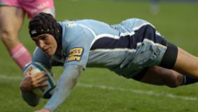 Tom James gave coach Dai Young a welcome reminder of his abilities with two tries on his return for Cardiff Blues. - 08/04/2008 10:10