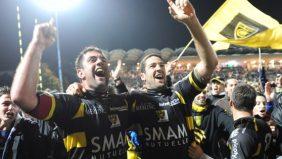 La Rochelle a fêté son retour sur la scène du rugby européen en remportant ses deux premières manches en Amlin Challenge Cup et se régale à l'idée de relever le défi face à Gloucester Rugby en 3e Journée samedi soir au Stade Marcel Deflandre. - 09/12/2010 10:30