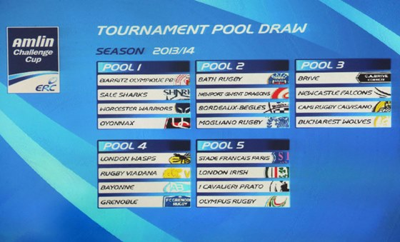 European Professional Club Rugby | Demanding draw for