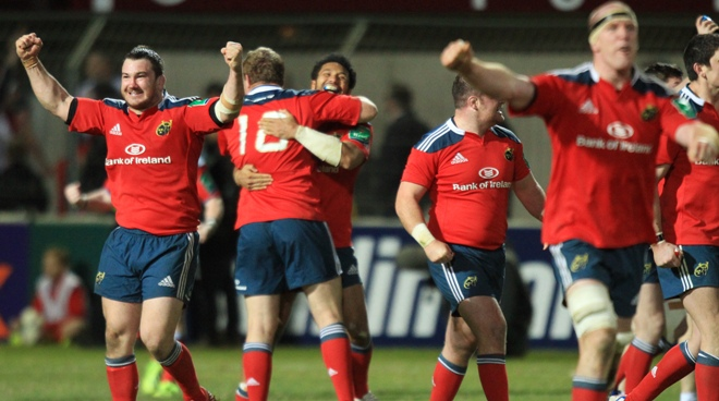 Munster: En route pour les quarts - 25/03/2014 11:19