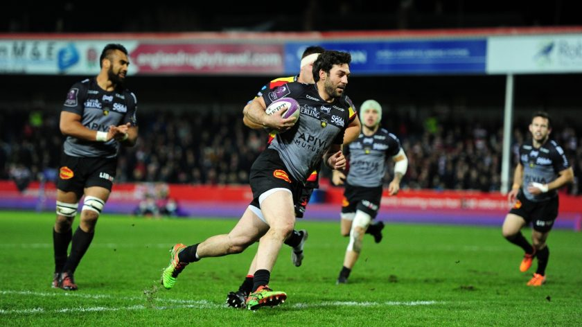 Surprise TOP14 front-runners La Rochelle will have the chance to extend their lead at the top of the table when they take-on fellow Challenge Cup quarter-finalists Stade Francais. - 10/02/2017 16:04