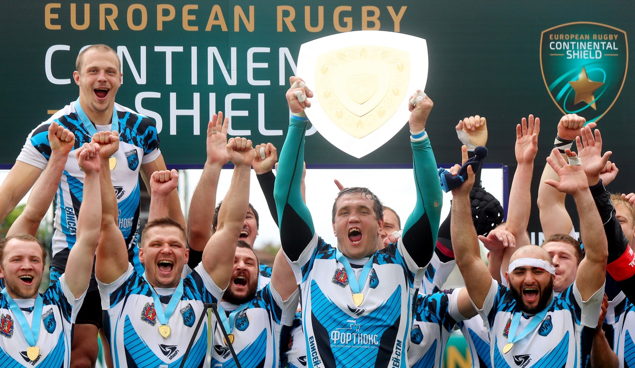 Enisei-STM claimed European Rugby Continental Shield final glory and sealed their place in the 2017-18 European Rugby Challenge Cup with a 36-8 victory over Krasny Yar in Edinburgh. - 13/05/2017 14:36