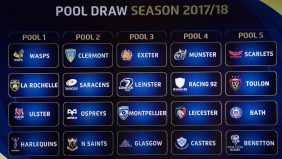 There will be a repeat of the 2017 Champions Cup final in the pool stages next season after reigning champions Saracens and ASM Clermont Auvergne were drawn together in Pool 2. - 08/06/2017 14:49