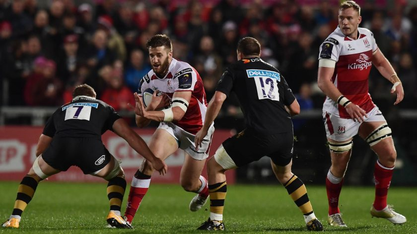 Ulster Rugby's Stuart McCloskey is the man in the spotlight after his try in the 19-9 victory over Wasps in Round 1 is voted our Try of the Round. - 19/10/2017 10:46