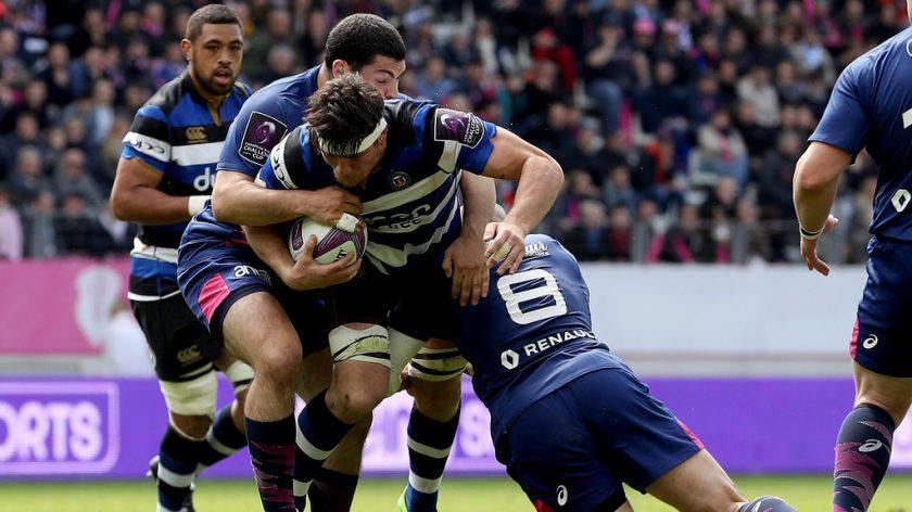 Le flanker de Bath Rugby