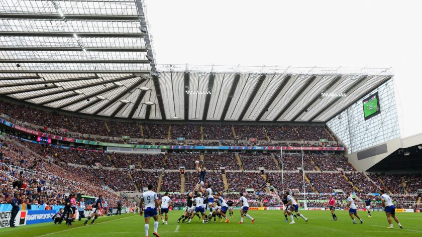 2a0dc68ebbc St James' Park will host a dress rehearsal for the 2019 European Rugby  Champions Cup