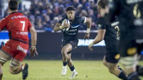 Le deuxième essai éblouissant de l'arrière Anthony Watson inscrit dans la victoire de Bath au Recreation Ground face au RC Toulon (26-21)
