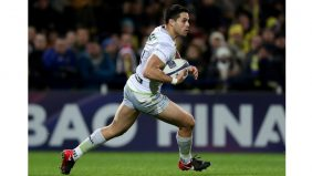 Saracens backs Brad Barritt and Sean Maitland are hoping history repeats itself when they face Leinster Rugby in the European Rugby Champions Cup quarter-final at Dublin's Aviva Stadium on Sunday. - 29/03/2018 11:17