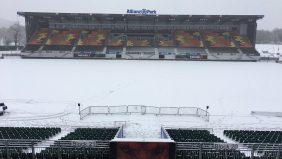 La rencontre de la 3ème Journée de Champions Cup d'aujourd'hui entre les Saracens et l'ASM Clermont Auvergne à l'Allianz Park a été reportée. - 10/12/2017 12:11