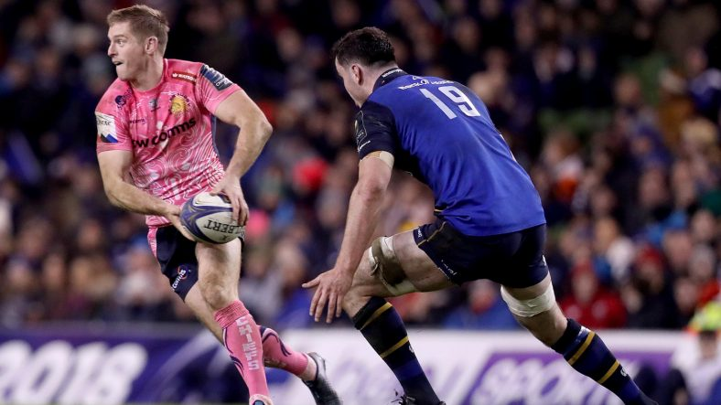Exeter Chiefs host Montpellier at Sandy Park on Saturday