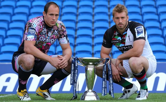It is all to play for in Cardiff tomorrow evening when Harlequins and Stade Francais meet in the final of the Amlin Challenge Cup. - 19/05/2011 17:30