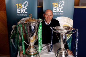 Amlin Ambassador Lawrence Dallaglio looks ahead to the two semi-finals in the Amlin Challenge Cup - his former club London Wasps against Cardiff Blues and Connacht against Toulon. - 28/04/2010 22:14