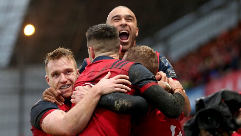 Munster Rugby scored six tries as they overwhelmed Castres Olympique to top European Rugby Champions Cup Pool 4 and clinch a home quarter-final at Thomond Park. - 21/01/2018 18:20