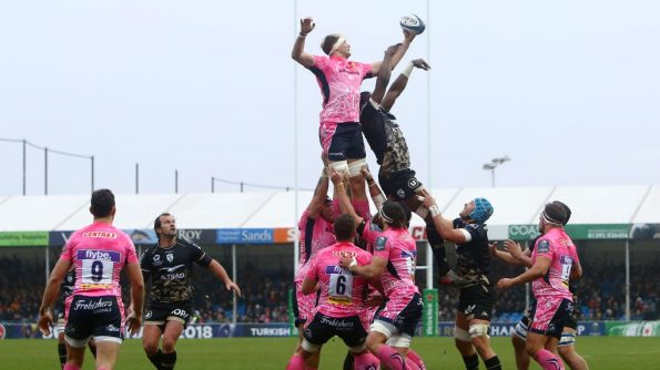 Exeter Chiefs breathed life in their Champions Cup campaign with a dominant 41-10 win over Montpellier at Sandy Park