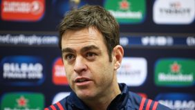 """Munster head coach Johann van Graan is """"relishing the opportunity"""" to take part in his first European Rugby Champions Cup quarter-final on Saturday against RC Toulon at Thomond Park. - 30/03/2018 09:34"""