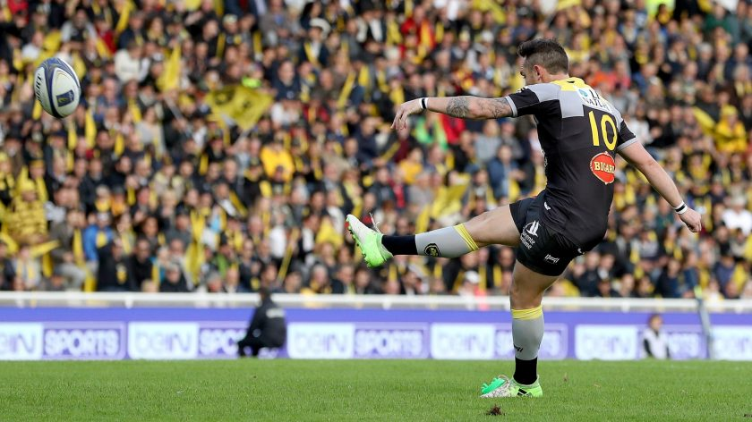"""La Rochelle fly-half Ryan Lamb says his club are """"buzzing"""" ahead of their maiden European Rugby Champions Cup quarter-final against Scarlets on Friday at Parc y Scarlets. - 30/03/2018 00:05"""