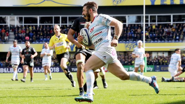 Racing 92 progressed to the European Rugby Champions Cup semi-finals after defeating ASM Clermont Auvergne 28-17 in a breathtaking away performance at Stade Marcel-Michelin. - 01/04/2018 15:21