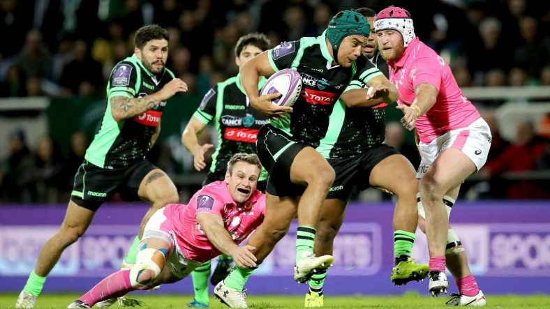 Pau continued their 100 per cent record in this season's European Rugby Challenge Cup to reach the semi-finals for the first time since 2005 - but only after thwarting a sensational comeback from defending champions Stade Francais Paris 35-32. - 30/03/2018 22:29