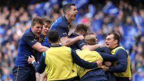 Leinster Rugby marched into the European Rugby Champions Cup semi-finals with a 30-19 win over Saracens after a dominant second half display at the Aviva Stadium. - 01/04/2018 18:14