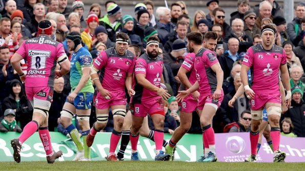 Last season's European Rugby Challenge Cup runners-up Gloucester Rugby have booked their place in the final four after a bruising 33-28 triumph over Connacht Rugby on a blustery Saturday afternoon at the Sportsground. - 31/03/2018 14:59