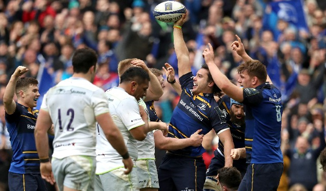 European Rugby Champions Cup Quarter Final Highlights: Leinster Rugby 30 - 19 Saracens - 01/04/2018 18:34