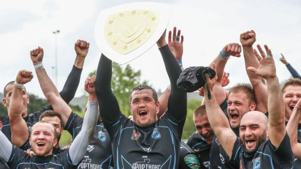 Enisei-STM have been crowned European Rugby Continental Shield champions after repelling a late Heidelberger RK comeback to clinch a 24-20 triumph in Getxo on Saturday. - 13/05/2018 12:00