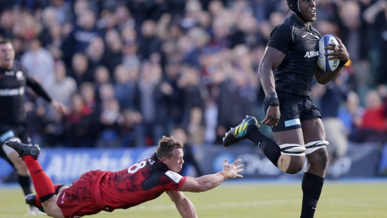 Saracens ease to bonus-point victory over Lyon