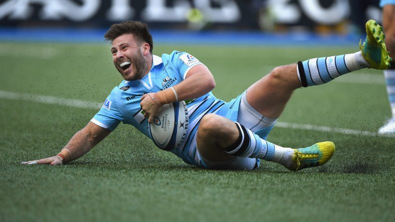 Clinical Glasgow collect bonus-point win over Cardiff