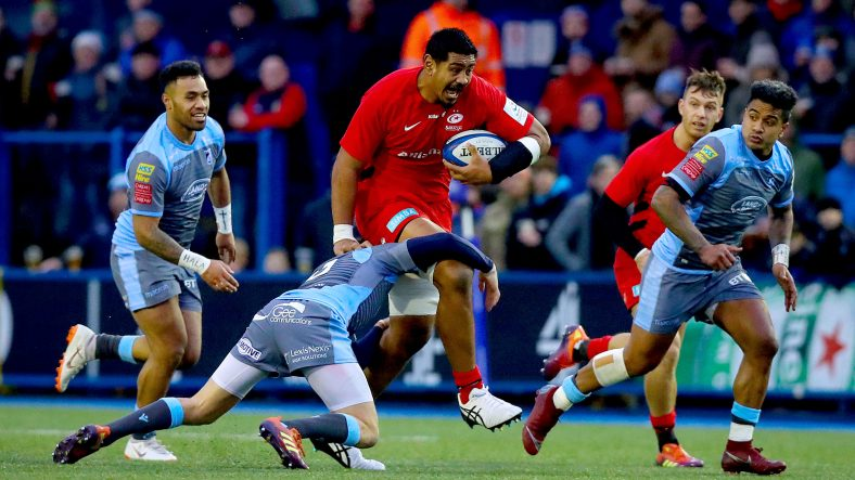 Saracens battle past Cardiff to stay top