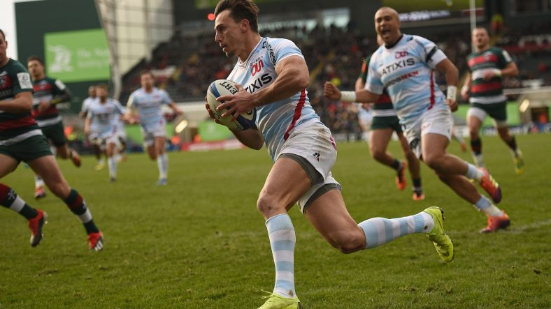 Racing 92 blow Leicester away to keep perfect record