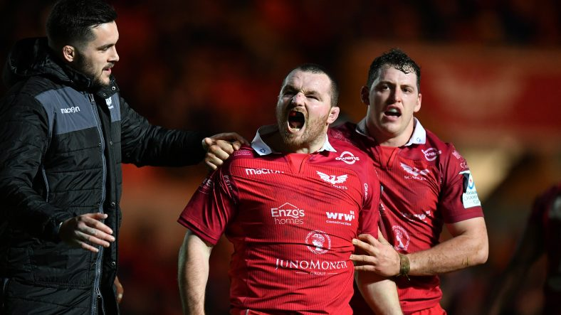 Clinical Scarlets ease to victory over Leicester