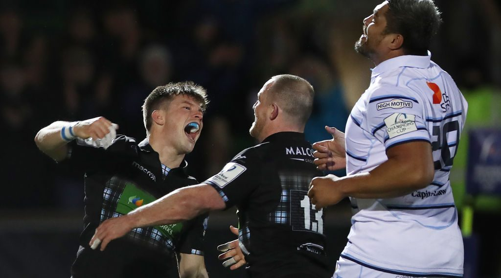 Glasgow inch closer to quarter-finals after bonus-point win over Cardiff